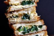 Sandwiches of All Sorts / From grilled cheeses to paninis to healthy veggie-packed sandwiches, stuffing great food between bread is always a good start to a meal.