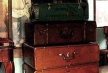 valises d'époque