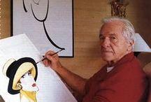René Gruau / René Gruau (4.02.1909-31.03.2004)est un dessinateur affichiste et peintre franco-italien
