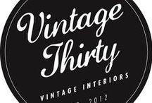 Vintage 30 / A selection of amazing vintage finds