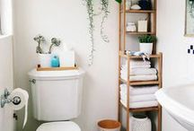 home // bathroom / interior design for bathrooms.