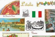 Italie / L'Italie : Géographie, Histoire, Sciences, Activités manuelles, Arts, Lectures
