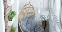 Balcony & Terrace / Best ideas for balcony and terrace.