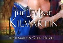 The Devil of Kilmartin / Laurin's National Readers' Choice Award-winning debut novel. Set in the time of William Wallace and Robert the Bruce.