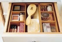 COSMETICS _ Organized / Health, Hair, Beauty, Cosmetics and Makeup - Organizing Ideas. Need help getting your cosmetics organized? If you live in the Bay area call, Collector Care - Professional Home Organizing Services.
