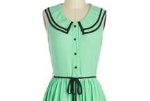 Lovely Peter Pan Collar dresses / Cute innocent dresses for little cute young women