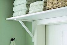 Space saving ideas / Interesting ideas for making the most of your space in the bathroom
