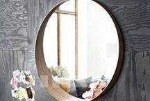 Mirrors / Mirrors can add so much to a room's look. These are some interesting ones we've found.