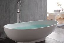Free-Standing Baths / Somewhere to relax and at the same time creating an amazing look in a bathroom.