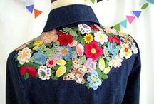 Customise your Clothes / Lisa's favourite thing: customising! Jazz up that old shirt with beads, sew ribbon around your jacket's lapel or go crazy stitching pompoms onto that jumper! Let your imagination loose and make your clothes truly unique