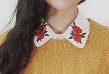 Details / Embroidery, beading and cute little pockets, we love an unusual detail on our DIY clothes. On this board find inspiration on how to jazz up your wardrobe and make it unique to you