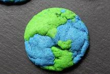 Holiday | Earth Day / Fun and easy Earth day crafts and DIY projects. We've even got some Earth day recipes that you and the kids can enjoy for snack!
