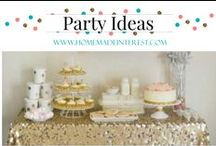 Party- Ideas / Party Ideas & Themes for all ages.