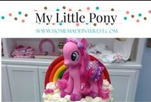 Party- My Little Pony / Party ideas for a rainbow My Little Pony party