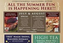 Specials / Events & promotions at The Flanders Hotel in OCNJ