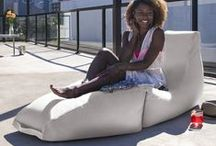 Jaxx Outdoors / Say goodbye to clunky, uncomfortable outdoor furniture. http://www.jaxxbeanbags.com/outdoor-furniture.html