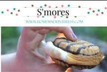 Food- S'mores / S'mores made every way you can think of! / by Home.Made.Interest.