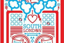 South London Gems / Visiting Sew Over It, Clapham, South London? We've made a list of our favourite places for you to check out while you're south of the river.