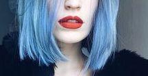 TRESS TO IMPRESS / Colorful unicorn mermaid hair and beautiful cuts. Manic panic for days.