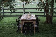 Sunday Suppers / Gathering friends in beautiful spaces