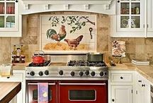 Country kitchen and laundry / Ideas for kitchen and laundry