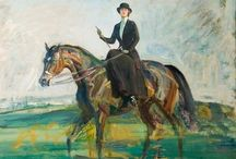 Equestrian Art / Painting,prints,sketches etc of....horses