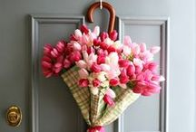 Inspiration   Spring / All things spring: ideas for spring and Easter themed activities, Easter crafts, St Patrick's Day crafts, kids crafts and projects, home styling and décor ideas, spring themed interiors, spring gardens, spring flowers.