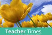 Just For Teachers / Teacher appreciation and ideas for improving your craft