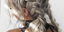 TAME THE MANE / Hairdos for everywhere from the gym to holiday parties. Consisting of braids, fishtails, messy buns, and etc.
