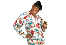 Adult Licensed Footed Pajamas / Pajamas (Pajamacity.com) - We have a variety of styles and sizes of adult footed pajamas (sizing info – pajamas are made extra roomy and fit most average sizes and we have more sizes than any other footed pajama manufacturer. To ensure our sizing chart is nearly perfect we go through a rigorous 10 point checklist when sizing our pajamas.  All of the various measurements we cover are to make sure the pajamas are made proportionate to your body and height.