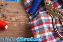 Alterations by Dry Cleaning 4U / http://drycleaning4u.co.za/