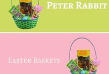 Easter Baskets / Every Easter Basket Needs a Hollow Chocolate Bunny from R.M. Palmer Company. It's a 70 year tradition! Check this board for Easter Basket Ideas & Inspiration during the Easter holiday season!