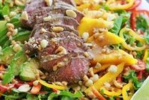 Salads / Recipes that tastefully combine a variety of food groups