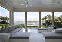 WORKS / Palm Beach, Florida (USA) / Mansion in Palm Beach, Florida #TiEffeEsse Interiors  http://www.tieffeesse.com