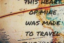 Travel / Trenger visst noen å reise med...