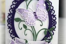 Die Cuts / Cards and other items using die cuts / by Karen Grafford