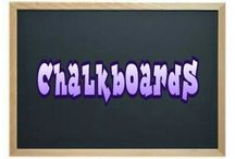 ⭐ Chalkboards ⭐ / No limits here  (feel free to pin everything you like)