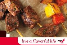 Live a Flavorful Life / It's time to fill your summer with new beef favorites. After all, a life full of favorites is a flavorful life. Funded By The Beef Checkoff