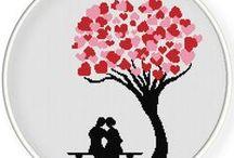 Drzewka szczęścia krzyżykami