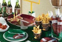 Super Bowl Party / Party Ideen für die perfekte Super Bowl Feier in Football Optik.