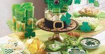 St. Patrick's Day Party / DIY-Ideen, Dekoration und Accessoires für Eure Party zum irischen Feiertag, dem St. Patrick's Day.