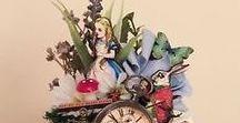 Alice im Wunderland zum (Nicht-)Geburtstag / Alice im Wunderland ist die Traumerfüllung aller Träumer, Romantiker und Phantasten! Es gibt wunderschöne Varianten, euren (Nicht-)Geburtstag mit Alice zu feiern. Hier findet ihr ein paar Inspirationen! <3
