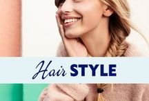 """Hair Style / It's all about nice hair style! If you want to be invited to share your favourite looks with us, just comment the latest pin with """"hair style"""".  P.S. You can find great tutorials and care tips on our board """"NIVEA Hair Care & Style"""". Have a look!"""