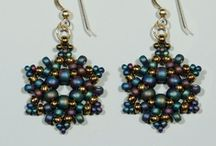 BEADED EARRINGS / by Debra Shipley