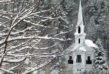 churches / by sheryl spear