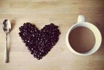 For the love of coffee / Coffee, hot chocolate, mocha. You choose your drink of choice. I love all forms of caffeine.