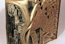 """Biogarden Book Art / biogarden.es, Compartimos contigo uno de los rasgos de nuestros productos, la creatividad. Te presentamos los mejores vídeos e imágenes de """" Book  Art """" autenticas esculturas realizadas con libros,  Impresionante... la vida es un regalo.http://www.biogarden.es/"""