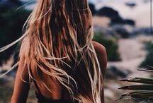 H A I R / Curly hair, Wavey hair, straight hair, long hair, short hair or no hair at all