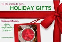HOLIDAY Gifts / Shop online now at AnniGifts.com for great gifts for him, her and couples this holiday season!  Enjoy free engraving and personalization on our products!