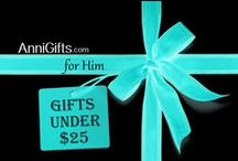 Gifts Under $25 for HIM / Find a great selection of gifts under $25 at AnniGifts.com. Shop online for affordable personalized gifts for men including travel items, key chains, mugs & more.  No extra cost for engraving -- it's included!